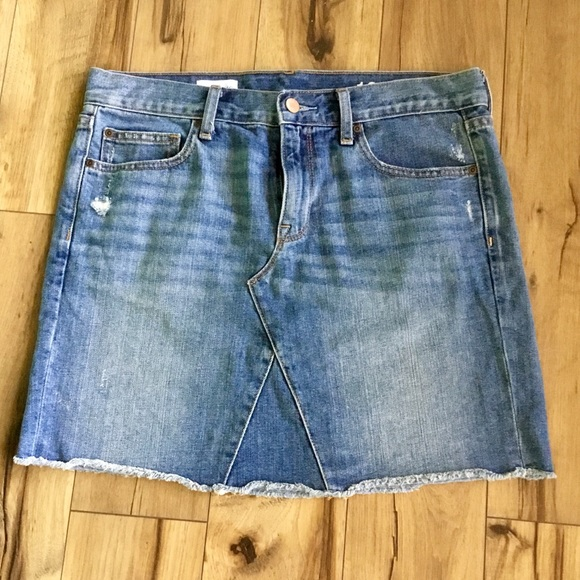 GAP Dresses & Skirts - Gap 1969 Nicholson Denim Mini Skirt, Sz 28/6